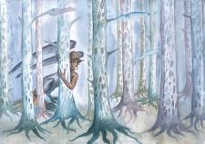 В сонном лесу бродят чудеса