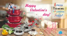 Открытка на сайт ко дню влюбленных