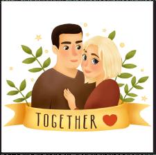 Иллюстрация на День святого Валентина