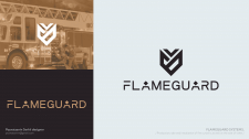 Logo design for flameguard systems