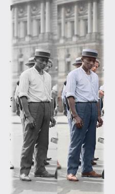 Колоризация черно-белых изображений