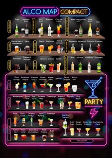 Карта алкогольных напитков