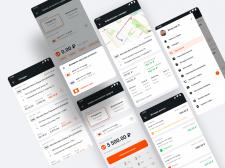 Мобильное приложение для водителей таксопарков