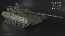 tank T80