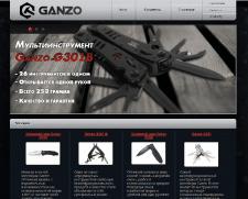 Создание сайта Ganzo
