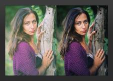 Цветокоррекция и ретушь фотопортрета