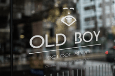 Логотип для Barbershop Old boy