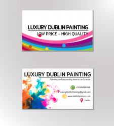 визитка для Luxury dublin