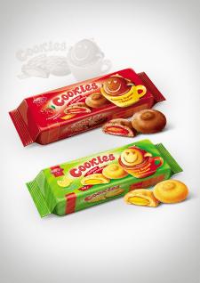 """Дизайн упаковки печенья """"Cookies"""""""