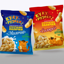 Упаковка  для кукурузных палочек