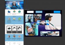 Дизайн одностраничного сайта/Landing Page design