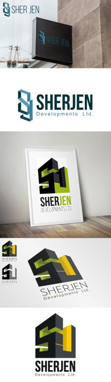 логотипы для строительной компании SherJ