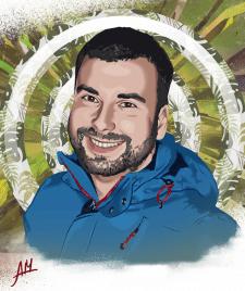 CG portret