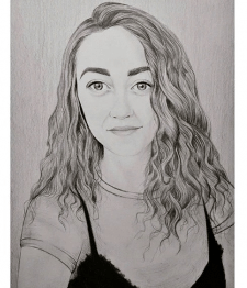 Портрет на форматі А3