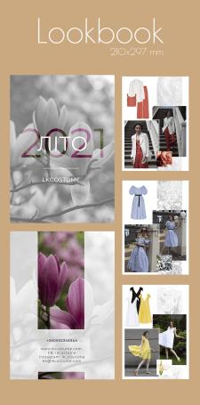 Lookbook для магазина одежды LKcostume