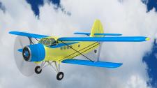 Самолет Ан-2 (Визуализация и моделирование)