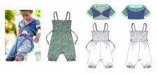 технический рисунок детской одежды