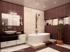 Дизайн- проект ванная комната 02