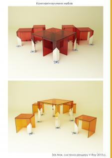Комплекти вуличних меблів