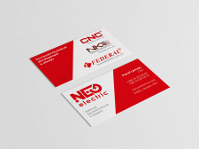 Визитка NEO Electric