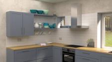 Дизайн и визуализация кухни в частном доме