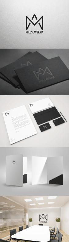 Разработка логотипа для дизайнера интерьеров