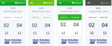 Whatscore дизайн мобильного приложения