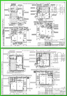 Векторизация, план здания - коммуникации