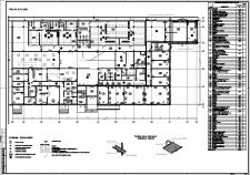 План АБК 1-й этаж