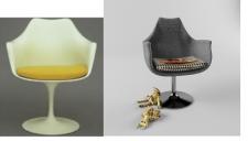 Полигональное моделирование кресла