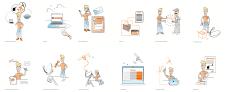 Иллюстрации для интернет провайдера
