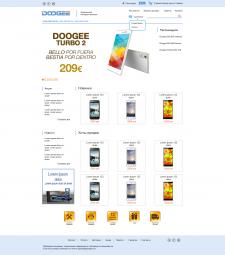 Дизайн интернет-магазина смартфонов