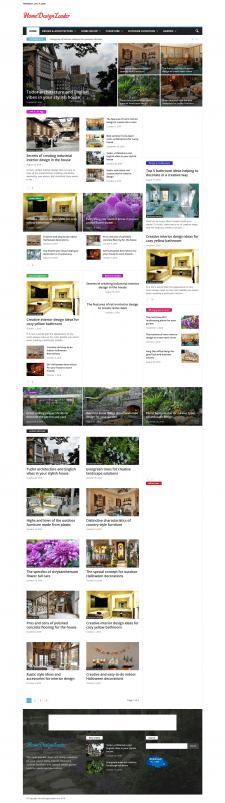 Сайт-блог на Wordpress
