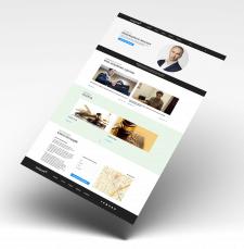 Дизайн сайта для Юридической сферы