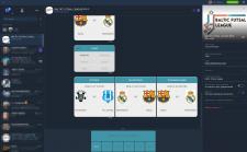 Viber чат-бот европейской футзальной футб. лиги