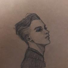 Скетчевый портрет
