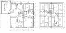 2D планировки домов
