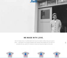 Shopify магазин футболок Myfieldshop