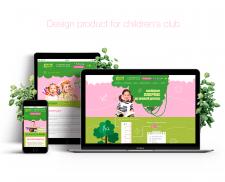 Разработка сайта для детского клуба