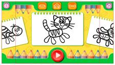 Дизайн  для детского приложения