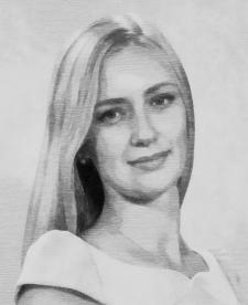 Портрет в олівці з фотографії