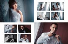 Разработка дизайна свадебного альбома