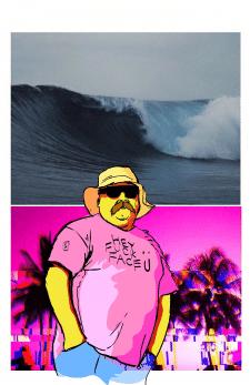 Волны Калифорнии