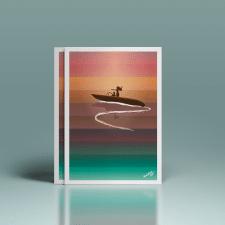 Постер о море