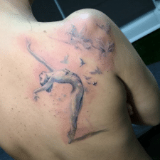 Tattoo ballerina тату балерина