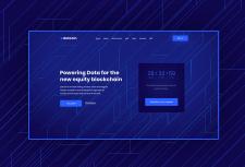 Dotcoin - Дизайн сайта для ICO стартапа