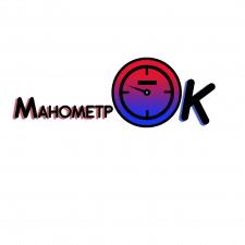 Логотип манометра
