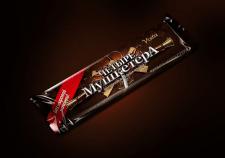 Упаковка шоколадного батончика