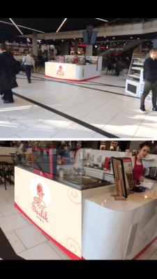 Оформление  точки в торговом центре