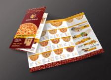 """Буклет-меню для доставки """"МокоПицца"""""""